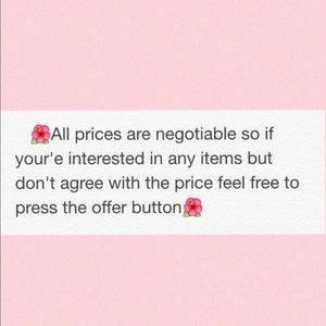 Other - Feel free to offer😊