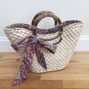 Structured Straw Bag