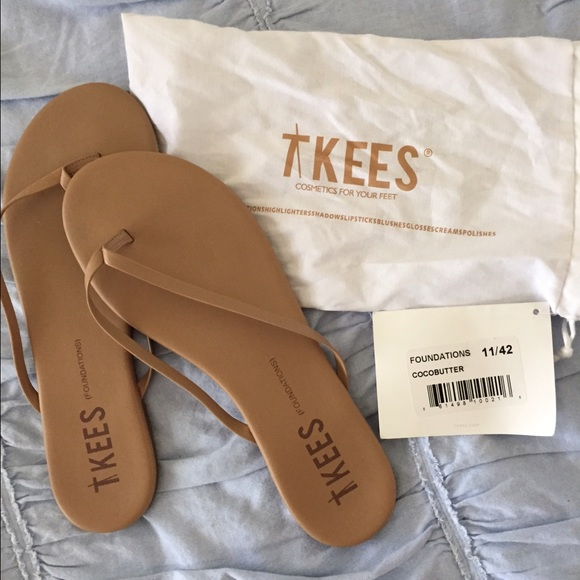 123b48c8df67 Tkees flip flops size 11 cocoa butter NEW. M 55b415090d9878287700629c