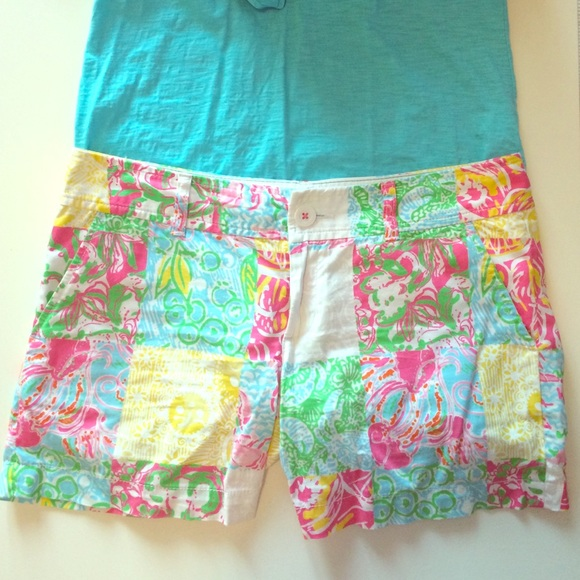 74ade0d8e5be84 Lilly Pulitzer Callahan Short in Maine State Patch.  M_55b417c9077e190af4006346