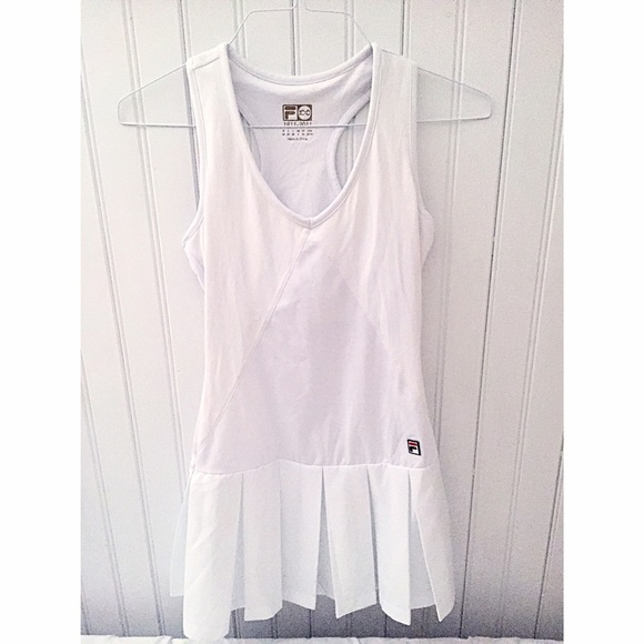 bb16965b FILA Pleated Tennis Dress
