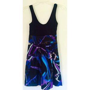 EXPRESS CASUAL GEOMETRIC DRESS