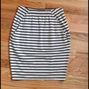 BDG Dresses & Skirts - Stripe Pencil Skirt