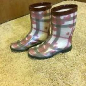 100% authentic Burberry Rain Boots