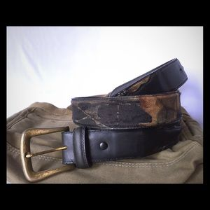 Men's Mossy Oak Camo Belt