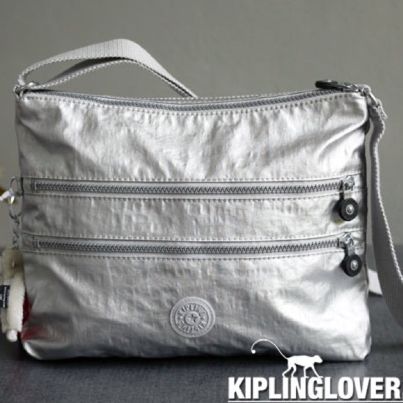 08da97c386 Kipling Handbags - Kipling Alvar Cross body Bag-Silver