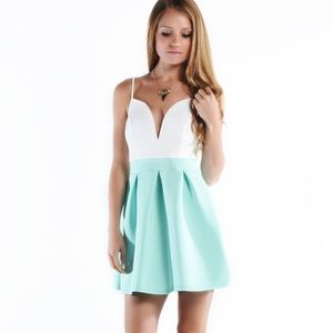 "LOWEST ""Secret Love"" A-line Fit & Flare Dress"