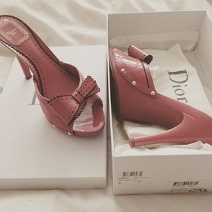 Christian Dior slides
