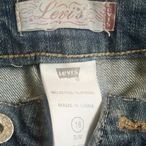 Levi Bootcut Jeans