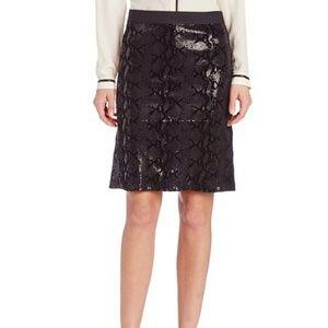 Karen Kane Dresses & Skirts - Karen Kane Pencil Sequin suede Skirt