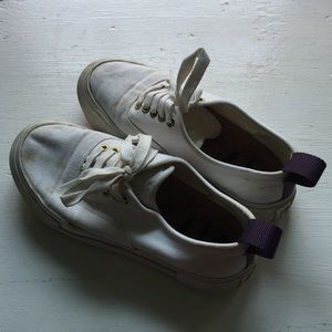Eytys Shoes - EYTYS MOTHER CANVAS WHITE SNEAKERS sz 36