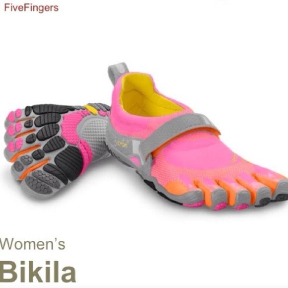 the latest d8f76 5b63c Bikila Vibram five fingers pink orange 39. M 55b510aaee93cb06ff0142cf