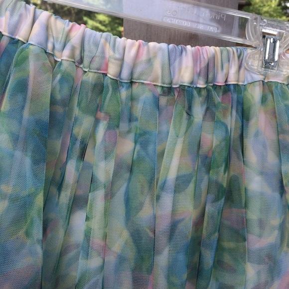 from Eliseo lauren conrad floral skirt