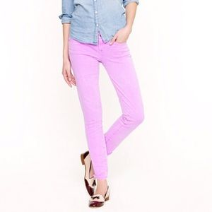 NEW J. Crew Toothpick Jean in Garment - Dyed