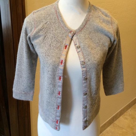 75% off Free People Sweaters - Free People Gray Wool/ Angora ...