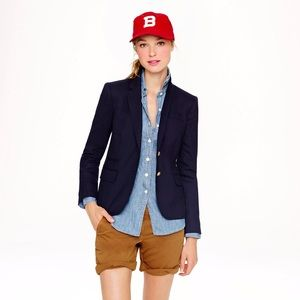 J. Crew Keating Boy Blazer in Navy
