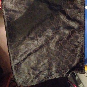Large Authentic Gucci dust bag large
