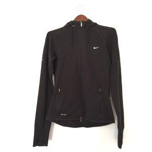 Nike Donne Giacche Nere 99k6IFB6Z