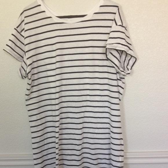 31c68835016 H&M Dresses   Hm Striped T Shirt Dress   Poshmark