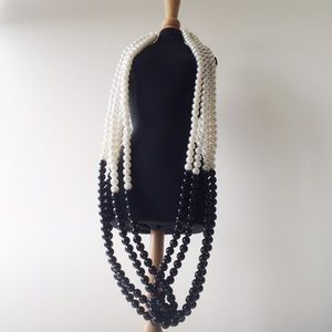 H&M Faux Pearl Twist Necklace