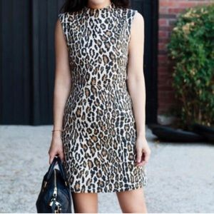 Alice + Olivia Dresses & Skirts - Coco A line leopard dress