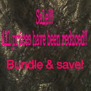 Other - Every price has been lowered! Bundle and save!