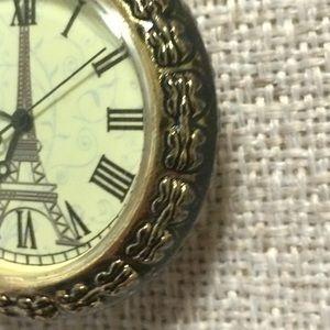 Forever 21 Jewelry Gold Pocket Watch Clock Poshmark
