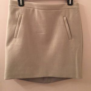 JCrew skirt - 100% wool