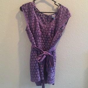 Plenty by Tracy Reese purple top