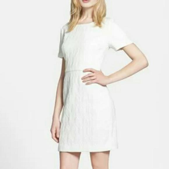 33b16391 Chelsea28 Dresses & Skirts - Chelsea 28 Cutout Back Jacquard Sheath Dress