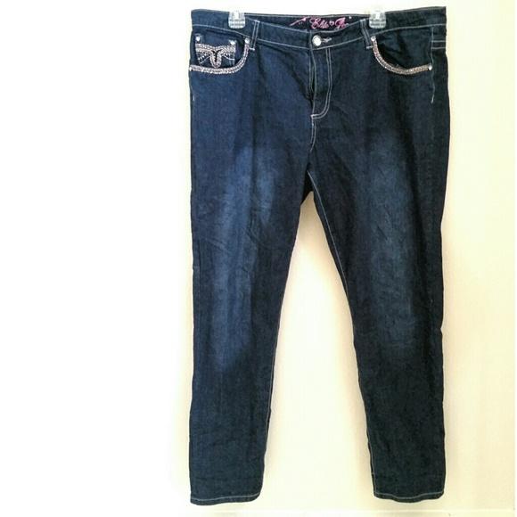 Elite Jeans - Elite Jeans Stretch Denim Jr Plus Size 18 Jeans from ...