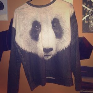 Panda bear sweater
