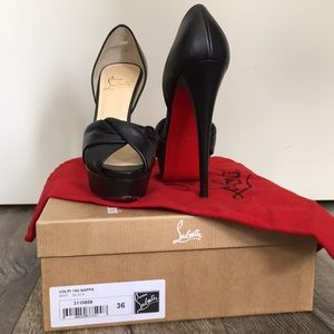 AUTHENTIC Christian Louboutin Volpi 36.5
