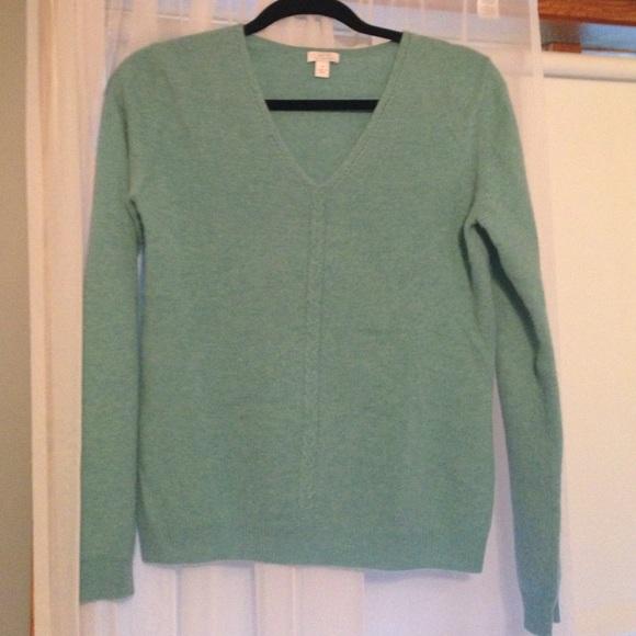 80% off Apt. 9 Sweaters - Aqua 100 Percent Cashmere Sweater from ...