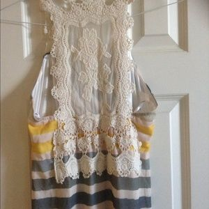 Dresses & Skirts - LONG MAXI DRESS WITH BEAUTIFUL EMBROIDERED BACK