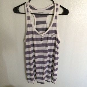 Striped Racerback Tee