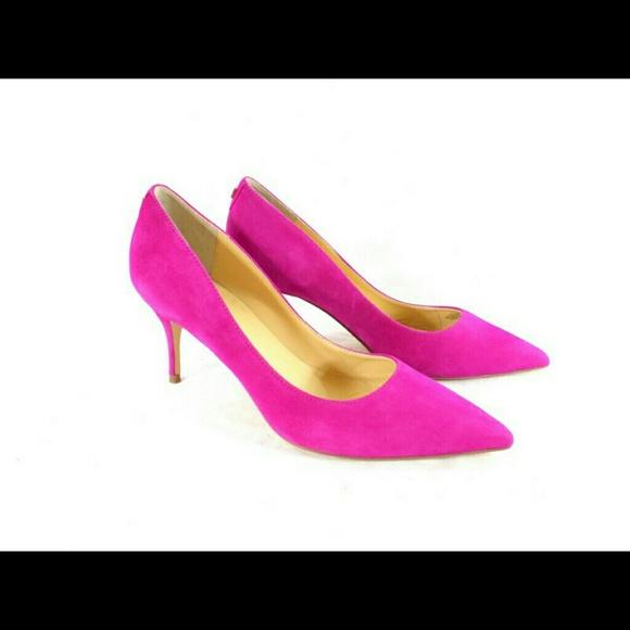 Ivanka Trump Tirra Pink Suede Pumps NIB