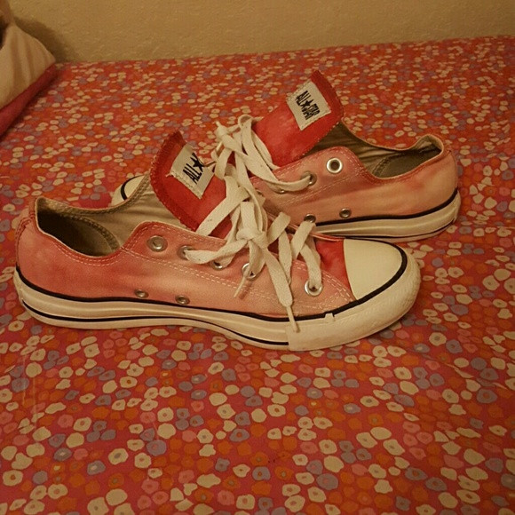 2fa4a0e69518 Converse Shoes - Bleached converses