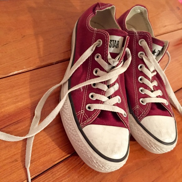 Converse Shoes - Maroon Ox Blood Red Converse Shoes 55d77a3ee