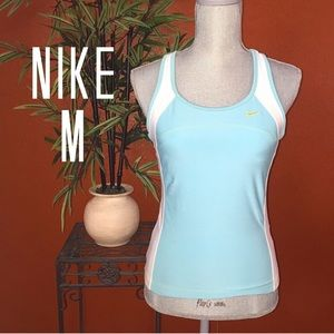 Nike Performance Mint Workout Top Medium