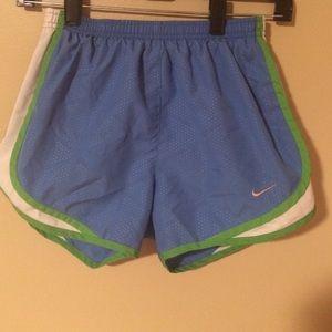 Nike tempo running shorts!