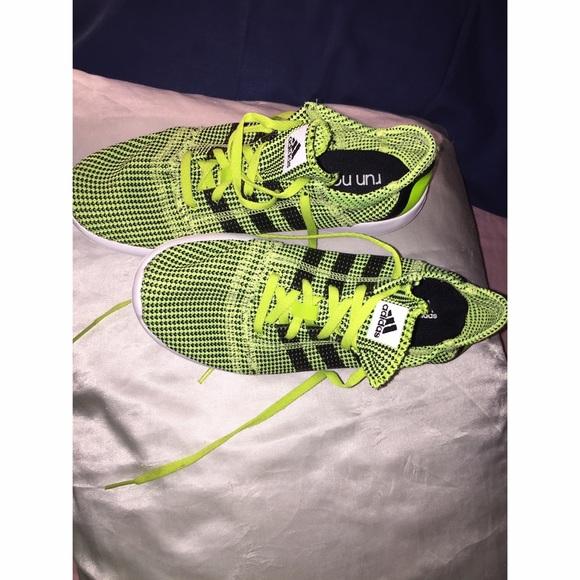 check out 1e5fe c5a12 Adidas Shoes - 🎉 Adidas women Lime Green   Black tennis shoes ⚽️