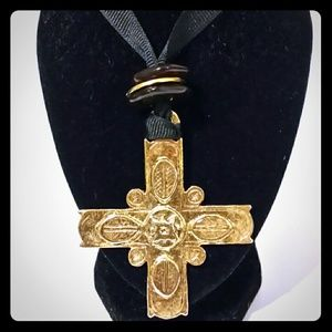 Cross Necklace by Express