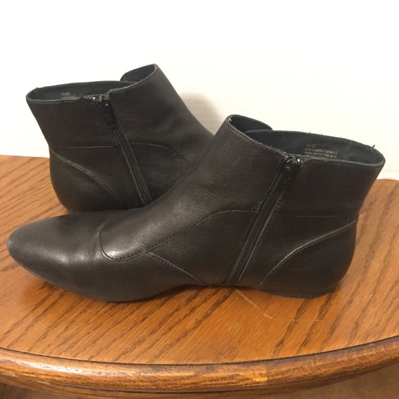 79 born boots flat ankle bootie from troye s closet