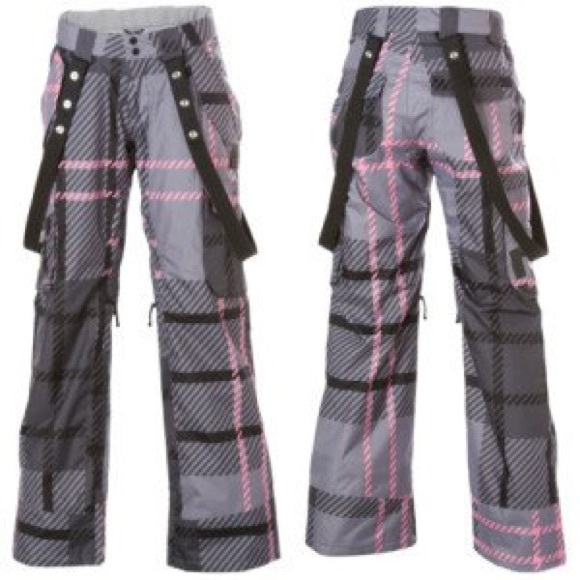 75% off DC Outerwear - ❄️Worn Once! Medium DC pink plaid ...