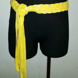 Accessories - ✳ Yellow Sequins Belt ✳