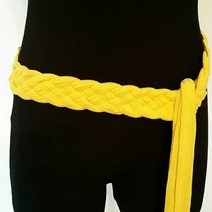 Accessories - ✳ Yellow Sequins Belt ✳