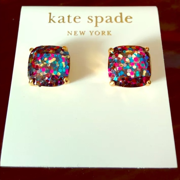 stud york com earrings amazon multi dp colored kate studs new spade cluster