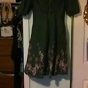 fat face Dresses & Skirts - BUNDLE)))Green casual dress