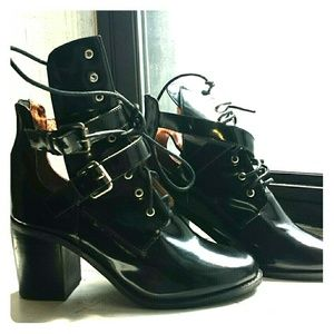 Jeffrey Campbell Buckle Boots